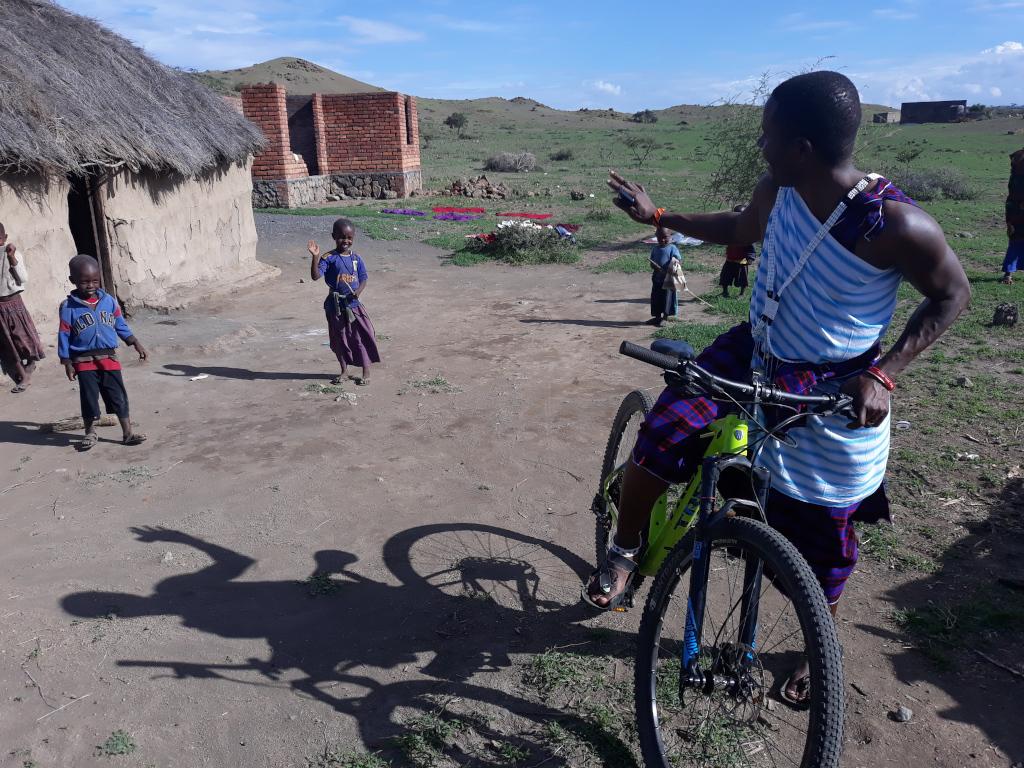 Aldeas maasai en Kenia