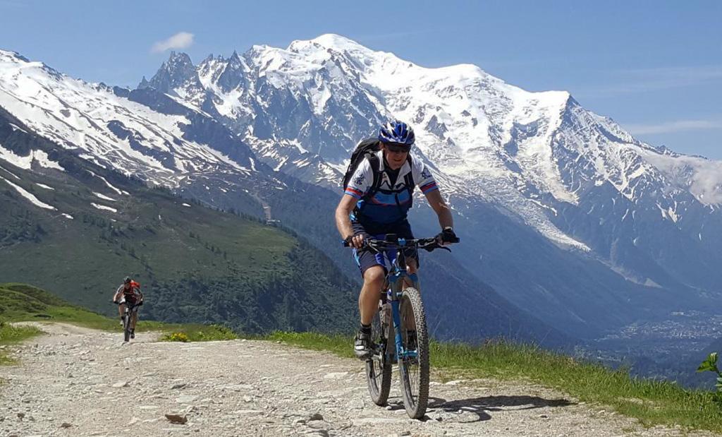Mont Blanc en bicicleta